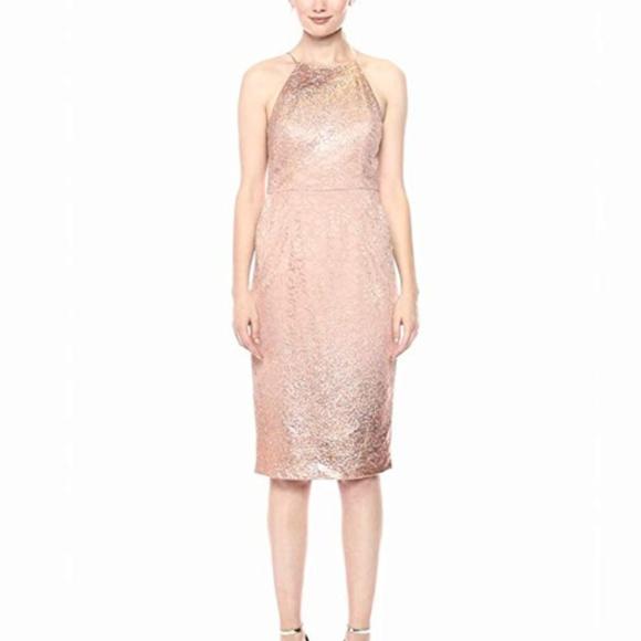 902a2125 Adrianna Papell Dresses | Dress Ombre Metallic Lace Sheath | Poshmark
